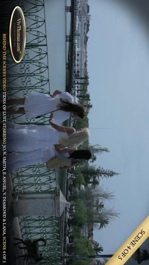 Eve Angel & Jo & Lana S & Nicole Smith & Viktoria Diamond - `Tides of Lust BTS Extras 2` - by Viv Thomas for VIVTHOMAS VIDEO