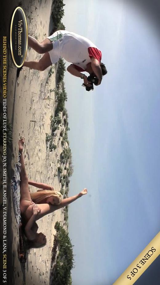 Eve Angel & Jo & Lana S & Nicole Smith & Viktoria Diamond - `Tides of Lust BTS Extras 3` - by Viv Thomas for VIVTHOMAS VIDEO