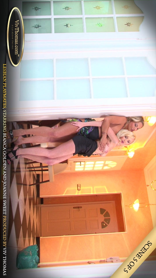Bianca Golden & Joanne Sweet - `Lesbian Playmates Part 5` - by Viv Thomas for VIVTHOMAS VIDEO