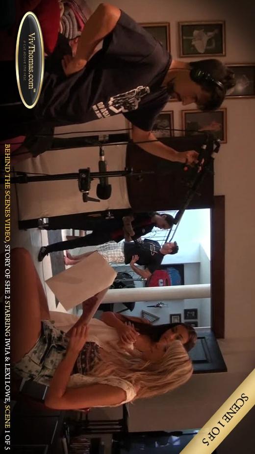 Eileen Sue & Iwia A & Lexi Lowe - `Story of She 2 BTS Extras 5` - by Viv Thomas for VIVTHOMAS VIDEO