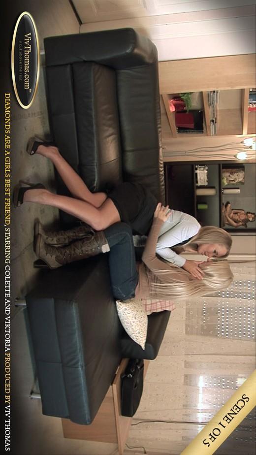 Colette A & Viktoria Diamond - `Advice!` - by Viv Thomas for VIVTHOMAS VIDEO