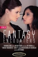 Madlin Moon & Ria Rodriguez in Fantasy Encounters Scene 4 video from VIVTHOMAS VIDEO by Viv Thomas