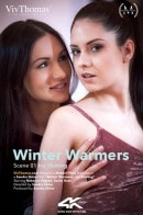 Rebecca Volpetti & Sasha Rose in Winter Warmers Episode 1 - Ice Skating video from VIVTHOMAS VIDEO by Sandra Shine