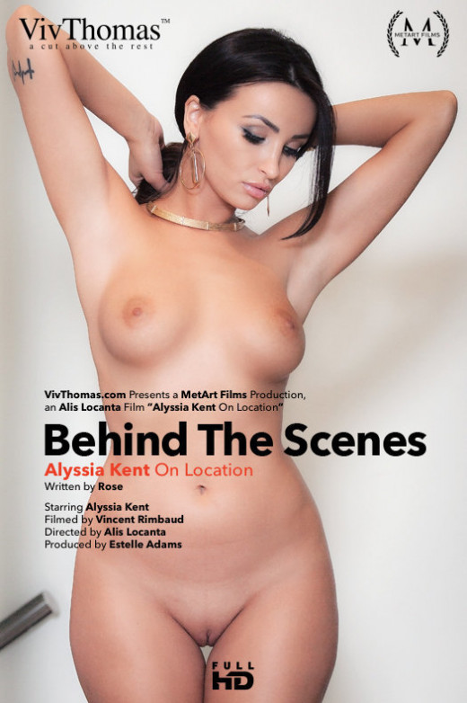 Alyssia Kent - `Behind The Scenes: Alyssia Kent On Location` - by Alis Locanta for VIVTHOMAS VIDEO
