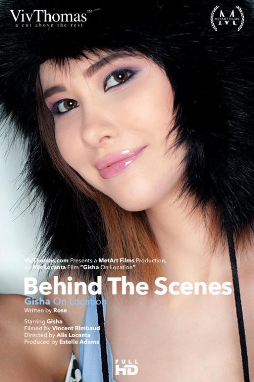 Behind The Scenes: Gisha On Location video from VIVTHOMAS VIDEO by Alis Locanta