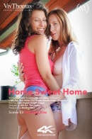 Emylia Argan & Linda Sweet in Home Sweet Home Episode 3 - Morning Kiss video from VIVTHOMAS VIDEO by Nik Fox