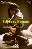 Petra F & Sabrisse in Full Body Massage Episode 3 - My Masseuse And Me video from VIVTHOMAS VIDEO by Nik Fox