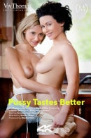 Stacy Bloom & Veronica Leal in Pussy Tastes Better video from VIVTHOMAS VIDEO by Sandra Shine
