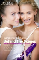Behind The Scenes: Aislin & Veronica Leal On location video from VIVTHOMAS VIDEO by Sandra Shine