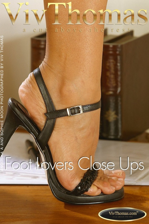 Anouska A & Sophie Moon - `Foot Lovers Close Ups` - by Viv Thomas for VIVTHOMAS