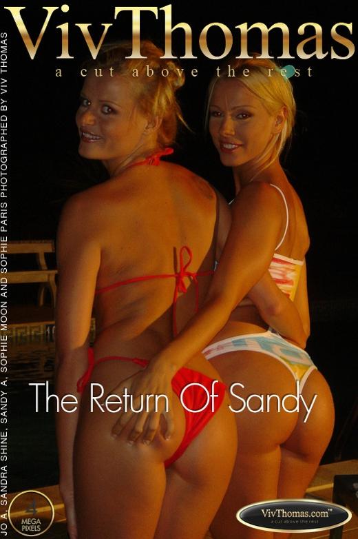 Jo & Sandra Shine & Sandy A & Sophie Moon & Sophie Paris - `The Return Of Sandy` - by Viv Thomas for VIVTHOMAS