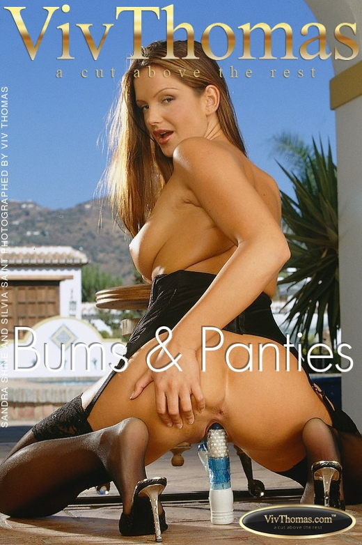 Sandra Shine & Silvia Saint - `Bums & Panties` - by Viv Thomas for VIVTHOMAS