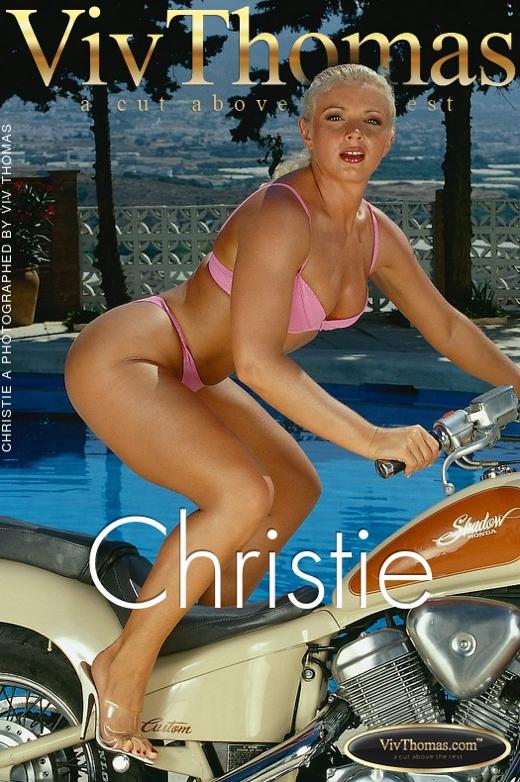 Christie A - `Christie` - by Viv Thomas for VIVTHOMAS