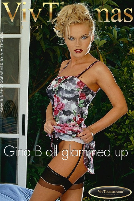 Gina B - `Gina B all glammed up` - by Viv Thomas for VIVTHOMAS