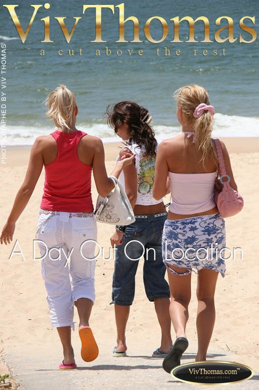 Kylie A & Sophie Moon - `A Day Out On Location` - by Viv Thomas for VIVTHOMAS