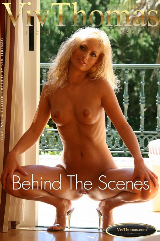 Cayenne A - `Behind The Scenes` - by Viv Thomas for VIVTHOMAS
