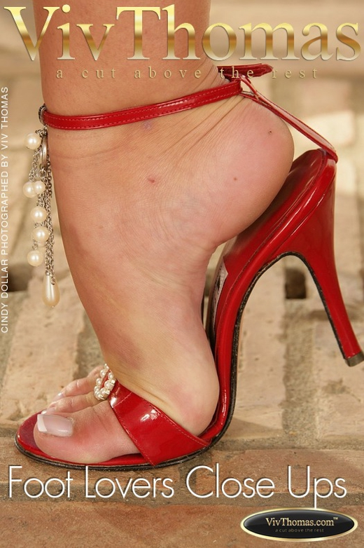 Cindy Dollar - `Foot Lovers Close Ups` - by Viv Thomas for VIVTHOMAS