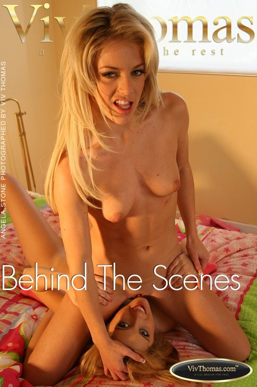 Angela Stone in Behind The Scenes gallery from VIVTHOMAS by Viv Thomas