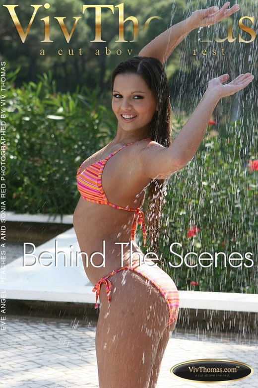 Eve Angel & Peaches A & Sonia Red - `Behind The Scenes` - by Viv Thomas for VIVTHOMAS