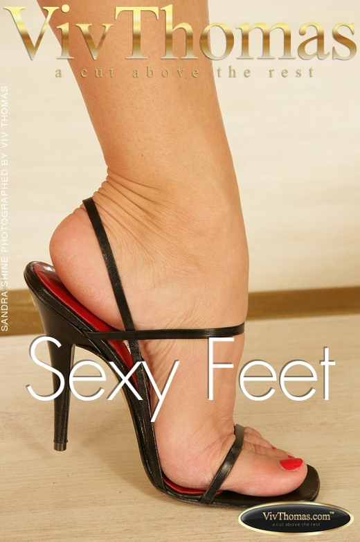 Sandra Shine - `Sexy Feet` - by Viv Thomas for VIVTHOMAS