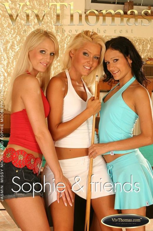 Jasmin B & Missy Nicole & Sophie Moon - `Sophie & friends` - by Viv Thomas for VIVTHOMAS