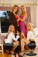 Kathy Moore & Kylie A & Sandy A & Sophie Moon - Awesome Foursome