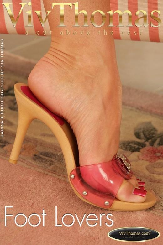 Karina A - `Foot Lovers` - by Viv Thomas for VIVTHOMAS