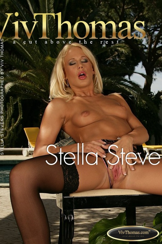 Stella Stevens - `Stella Stevens` - by Viv Thomas for VIVTHOMAS