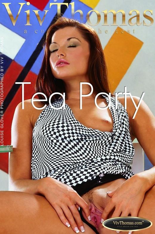 Louise Glover - `Tea Party` - by Viv Thomas for VIVTHOMAS