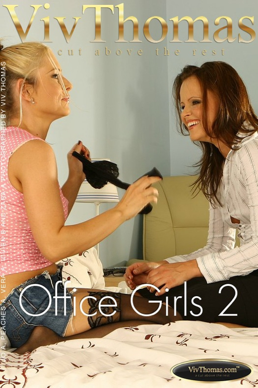 Jo & Peaches A & Vera A & Vivien B & Zara A - `Office Girls 2` - by Viv Thomas for VIVTHOMAS