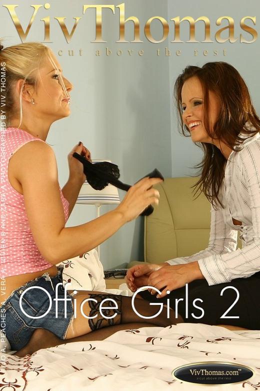 Jo & Peaches A & Vera A & Vivien B & Zara A - `Office Girls 2` - by Viv Thomas for VIVTHOMAS