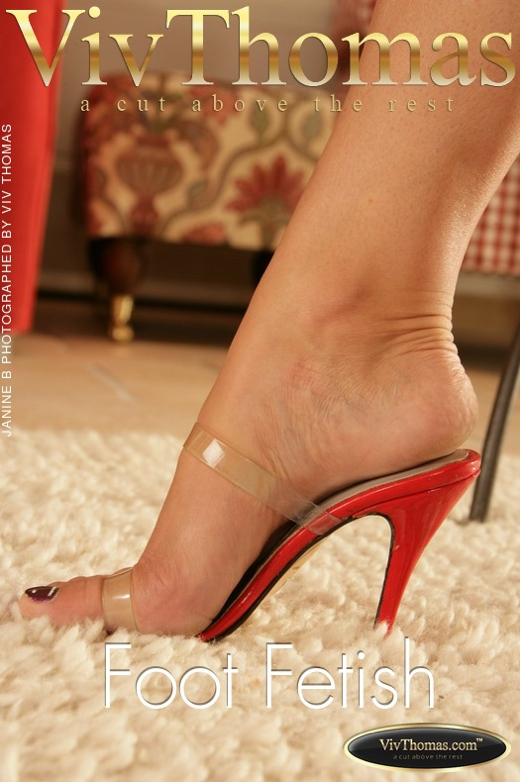 Janine B - `Foot Fetish` - by Viv Thomas for VIVTHOMAS