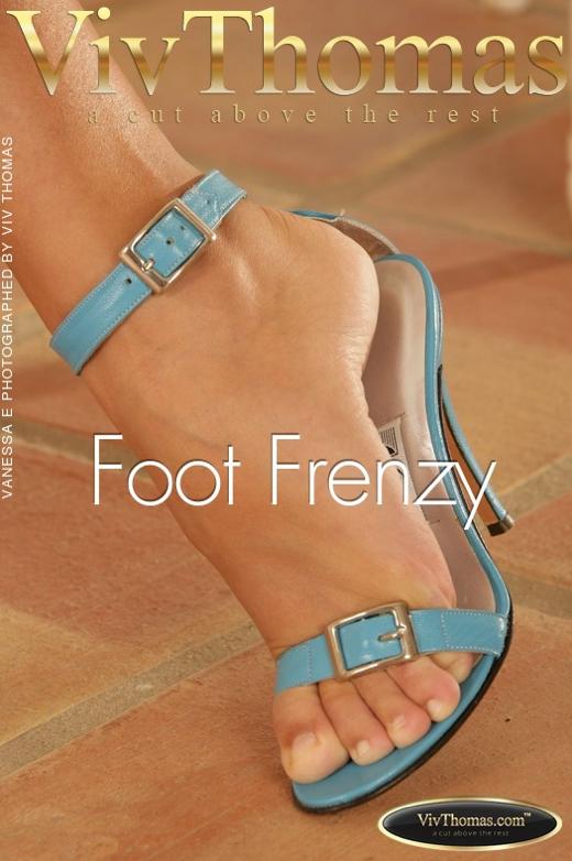 Vanessa E - `Foot Frenzy` - by Viv Thomas for VIVTHOMAS