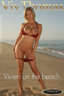 Vivien on the beach