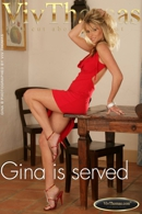 Gina is served