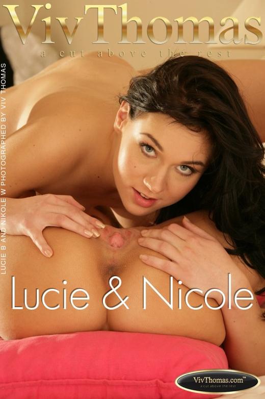 Lucie B & Nikole W - `Lucie & Nicole` - by Viv Thomas for VIVTHOMAS