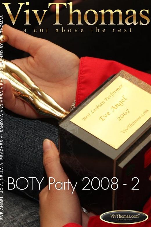 Eve Angel & Jo & Nella A & Peaches A & Sandy A & Vera A - `BOTY Party 2008 - 2` - by Viv Thomas for VIVTHOMAS