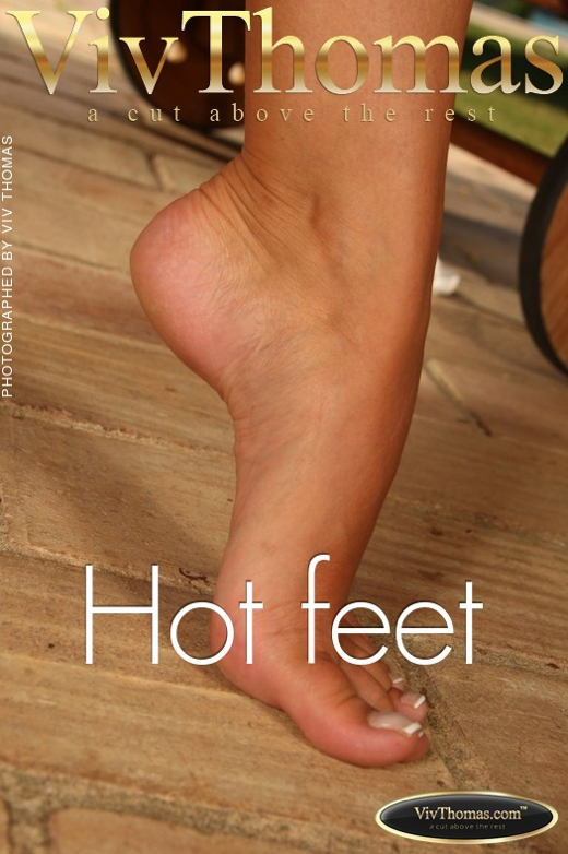 Lisa C - `Hot feet` - by Viv Thomas for VIVTHOMAS