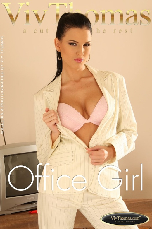 Walleria A - `Office Girl` - by Viv Thomas for VIVTHOMAS