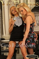 Gina B and Vivien