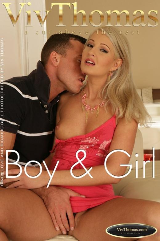 Cindy Love & Ricardo Bell - `Boy & Girl` - by Viv Thomas for VIVTHOMAS
