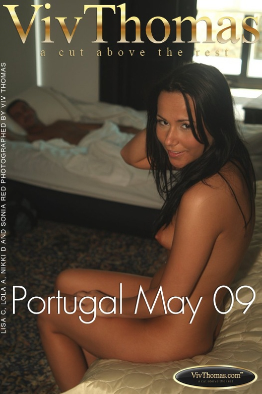 Lisa C & Lola A & Nikki D & Sonia Red - `Portugal May 09` - by Viv Thomas for VIVTHOMAS