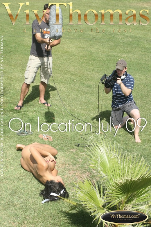 Carie A & Patsy A & Sasha B - `On location July 09` - by Viv Thomas for VIVTHOMAS
