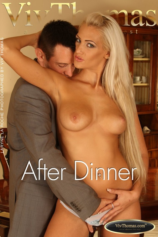 Laryne La Roche & Tristan Seagal - `After Dinner` - by Viv Thomas for VIVTHOMAS