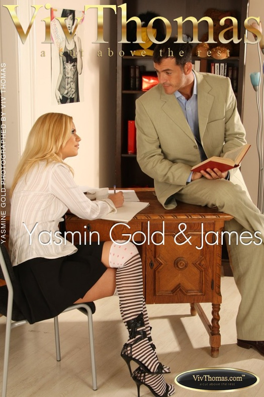 Yasmine Gold & James Brossman - `Yasmin Gold & James` - by Viv Thomas for VIVTHOMAS