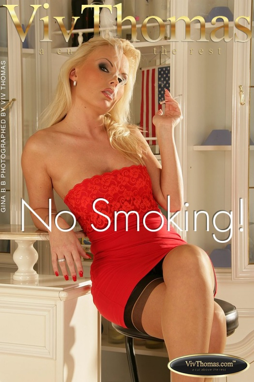 Gina B - `No Smoking!` - by Viv Thomas for VIVTHOMAS
