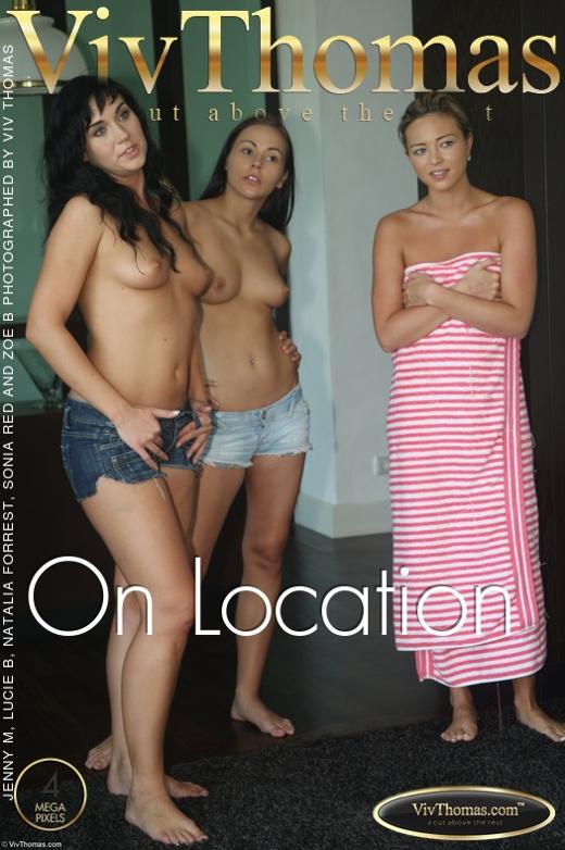 Jenny M & Lucie B & Natalia Forrest & Sonia Red & Zoe B - `On Location` - by Viv Thomas for VIVTHOMAS