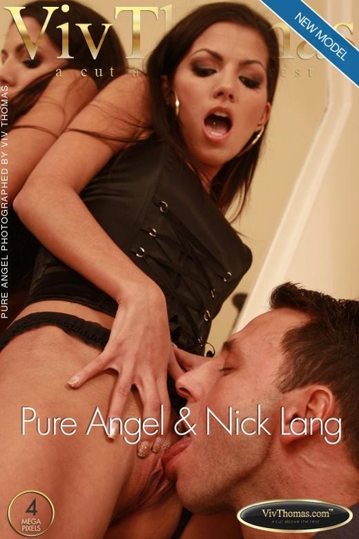Pure Angel & Nick Lang - `Pure Angel & Nick Lang` - by Viv Thomas for VIVTHOMAS