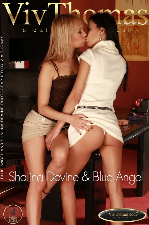 Blue Angel & Shalina Devine - `Shalina Devine & Blue Angel` - by Viv Thomas for VIVTHOMAS