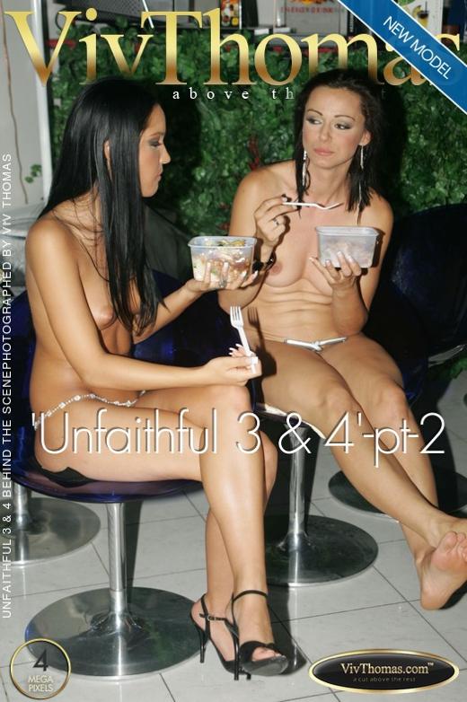 Aletta Ocean & Esmeralda A & Jane B & Lisa C & Nella A & Peaches A & Stella Stevens & Trisha Brill & Vera A & Zara A - `'Unfaithful 3 & 4'-pt-2` - by Viv Thomas for VIVTHOMAS